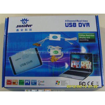 供应EasyCAP  USB视频采棒25帧实时采集卡一路 中英文软件USB监控