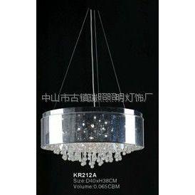 供应意大利设计水晶吊灯灯饰 卧室灯 餐厅灯 客厅水晶装饰灯具KR212A