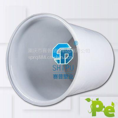 【厂家直供】1吨敞口大圆桶 食品级PE圆桶 上海塑料圆桶