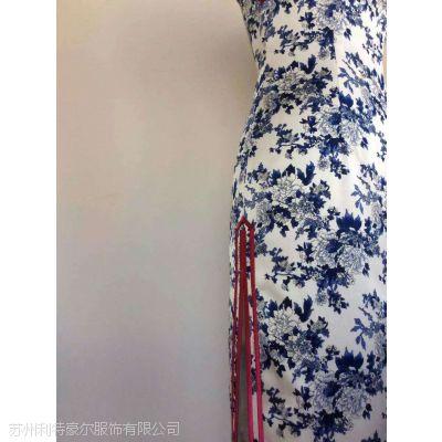 重磅桑蚕真丝旗袍定制店 利特豪尔服饰 量身订制 修身版 全手工精心缝制