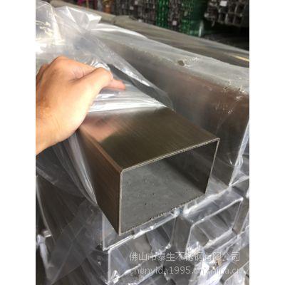 优质316不锈钢方管、管材薄壁不锈钢装饰制品管耐腐蚀6K镜面厚壁管60*60*3.0