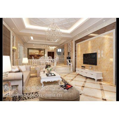 供应一号家居网后现代300平方米独栋别墅客厅装修案例图 室内装修