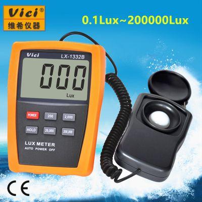 维希Vici LX-1332B 3 1/2位宽量程照度计/照度表/照度仪
