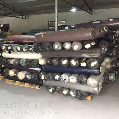 供应供应库存PVC人造革---汽车革、沙发革、鞋革等