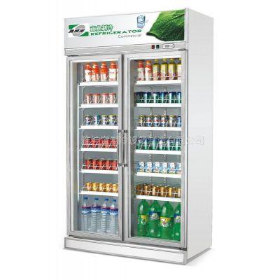 供应饮料冷藏展示柜/风冷/豪华型/微电脑控制/型号SG10L2FA