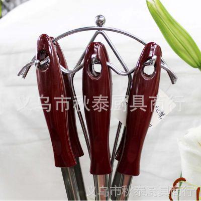 不锈钢厨具套装 烹饪勺铲套件 锅铲汤勺  不锈钢厨房用品批发
