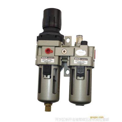 气动攻牙机配件,双联件、水油隔UFR/L-03正中台湾新恭二联件
