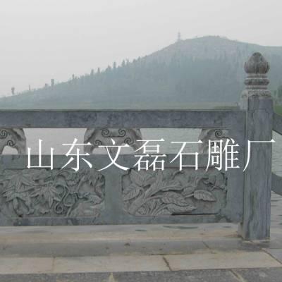河道两侧汉白玉石护栏 镂空栏板护栏 专业雕刻厂家