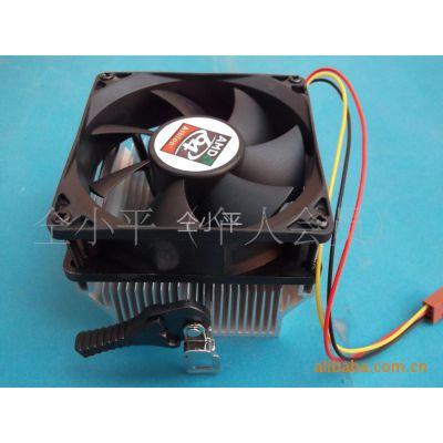 供应【风云战士散热总成】8厘米超静音AMD用 CPU  散热系统 电脑配件