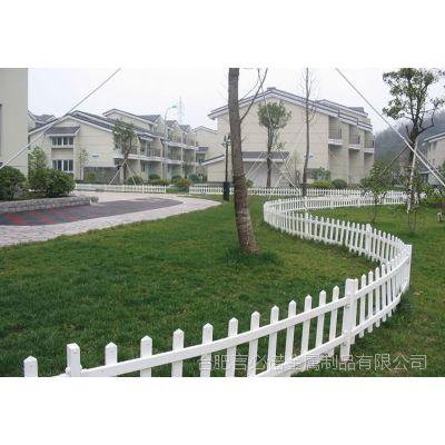 【市区草坪专用围栏(公路绿化带专用护栏@锌钢护栏PVC护栏)】言必诺专业生产