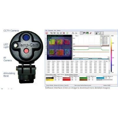 供应韩国HANA TC424小时实时监控红外热成像测温系统型号|产地|价格