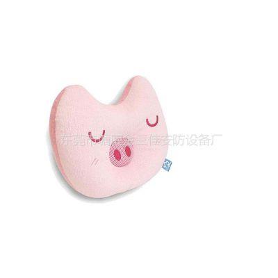 供应新奇特创意小猪音响 便携式粉猪午休午睡音乐枕音箱 音响音乐枕头