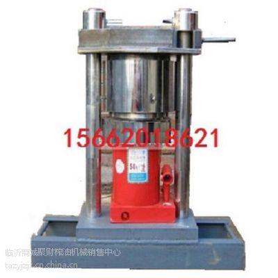 供应液压香油压榨机全套多钱,新式榨芝麻油机械图片,聚财全自动家用香油机