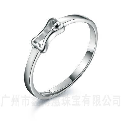 纯银戒指批发情侣对戒 925纯银手饰银戒指开口男女士戒指