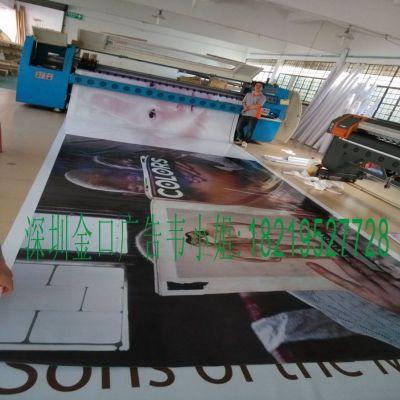 供应广州双面喷/双面布喷绘/UV平板喷绘加工