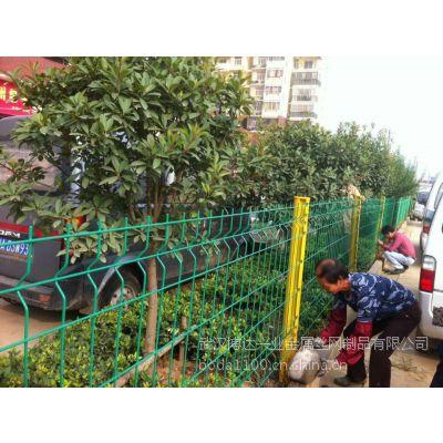 武汉园林别墅三角折弯护栏 开发区隔离网 厂家直销物美价优