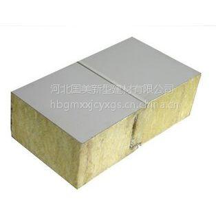 在不同的工作环境中岩棉复合板材料要求防结露,防潮等功能