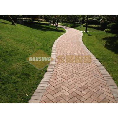 供应时尚环保陶土广场砖\\道板砖\\透水砖\\园林砖\\景观砖