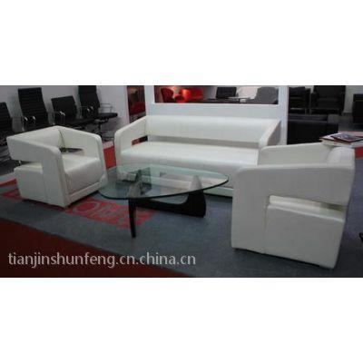 供应天津市顺丰环保办公家具厂出售办公沙发