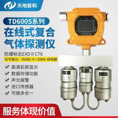 红外原理固定式二氧化碳检测报警仪TD600S-CO2-A