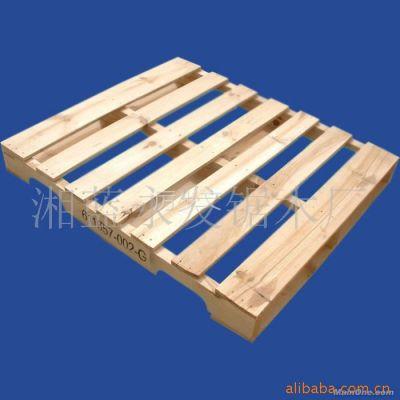 供应 厂家直销优质 卡板 木卡板-佛山 木地台板 免检卡板