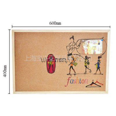 供应软木留言板/手绘软木画/个性订制/women 卡通图 松木边框画 新款