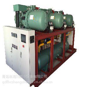 青岛定制螺杆式并联制冷压缩机组 制冷设备 75三并联螺杆式