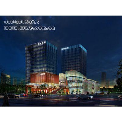 北京综合体亮化——清城广场亮化