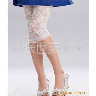 供应流行女装范冰冰小S同款公主蕾丝打底裤 七分裤