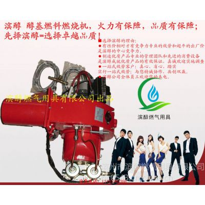 供应滨醇批量供应工业炉窑用HB-14甲醇燃料燃烧机