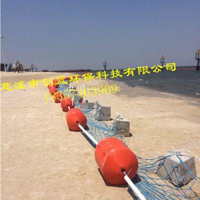 大陈岛海上防鲨网浮筒 拦污浮体 滚塑厂家直销