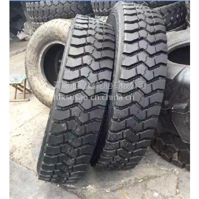 现货批发风力WINDPOWER汽车吊轮胎12.00R24 块花