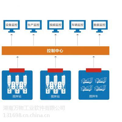 万物工业软件-拌合站监控系统、混凝土拌合站监控系统