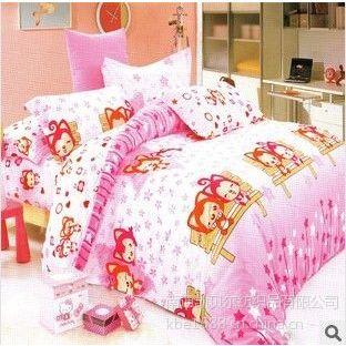 供应床上用品 纯棉全棉四件套 居家套件 卡通可爱系列 时尚经典