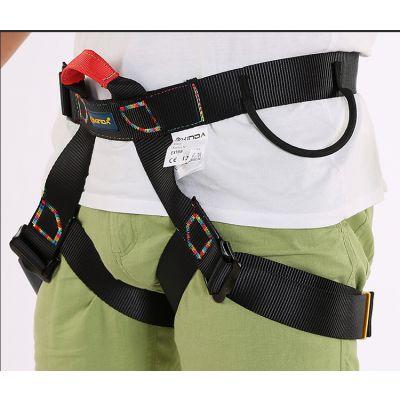 户外攀岩安全带速降装备安全带半身高空安全带保险坐带安全裤