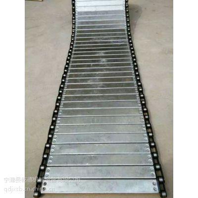 金属重型链板 平顶链 不锈钢链板 摊凉机链板 山东生产厂家专供