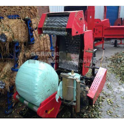 饲料储存两年之久的青贮打捆包膜机 鼎信厂家出厂价供