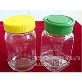 厂家供应500ml圆形玻璃蜂蜜瓶密封罐 果酱瓶子燕窝罐头酱菜瓶金色 罐头瓶 银色盖 塑料盖