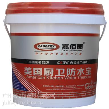 供应美国厨卫防水宝涂料 厨房卫生间专用防水 中国著名品牌