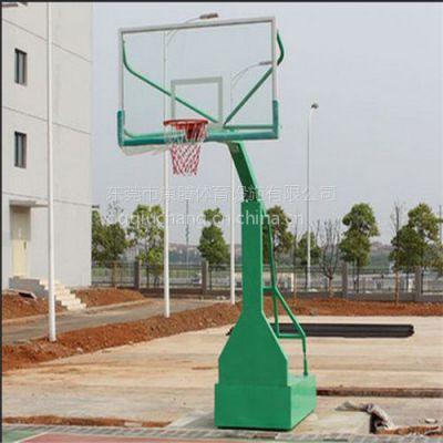 移动带轮篮球架配玻璃钢篮球板 专业篮球架生产厂家 畅销全国