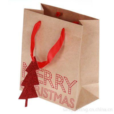 供应圣诞节可爱卡通纸手提袋,纸包装袋