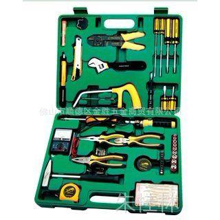广州飞豹FEIBAO牌60件电讯组合工具、电讯机修工具组套FB-8060