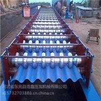浩鑫780大圆弧压瓦机的价格彩钢压瓦机数控压瓦机冷弯机