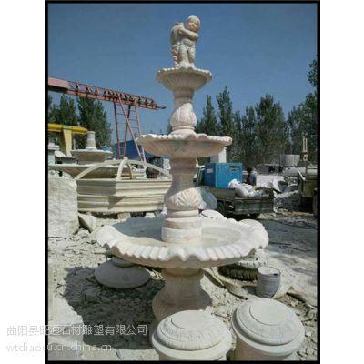 山东石雕喷泉|旺通雕塑|大型户外石雕喷泉