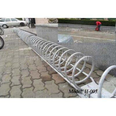 供应单车摆放架 广州单车摆放架