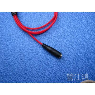 耳机延长线 超炫中国红。3.5插口