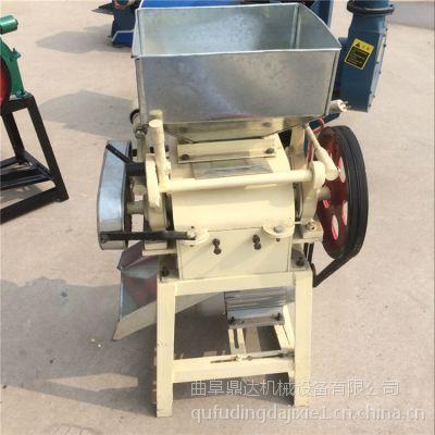 新型黄豆轧扁机 粮食类专用挤扁机 鼎达机械【多功能】豆类挤扁机