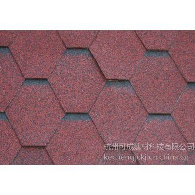 沥青瓦能用多久?沥青瓦质量、厂家专业生产沥青瓦 首先杭州可成建材油毡瓦厂家