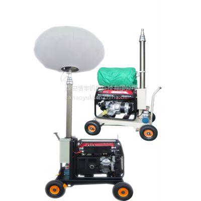 全方位升降工作灯、西安移动照明灯车、发电机照明灯车