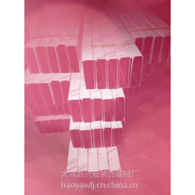 石家庄豪亚牌铝方通自主研发生产 销售粉末喷涂--型材铝方通